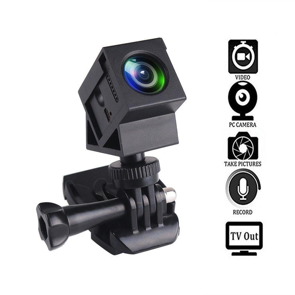 Mini Cámara Hawkeye Firefly HD 1080P FPV Micro Cámara de Acción Mini Cámara Oculta Spy con DVR FOV160 ° Micrófono Incorporado para RC Drone: Amazon.es: ...