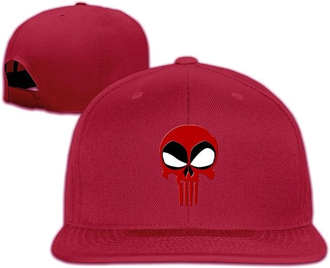 Ajustable Gorra – La Deadpool Logo de el Castigador Rojo rosso ...