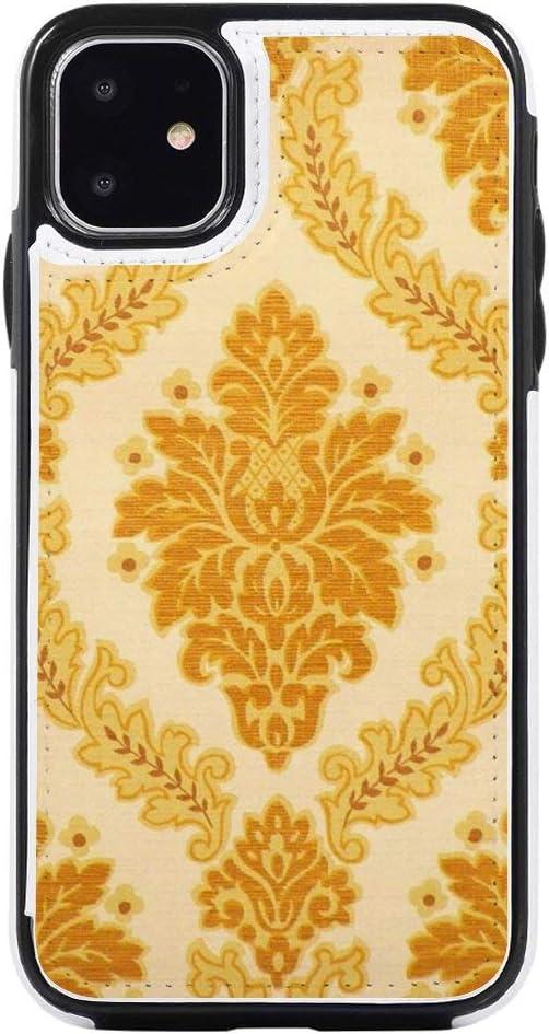 Amazon Com Practical Iphone Flip Case 11 Vintage Retro Wallpaper 121 Card Holder Iphone 11