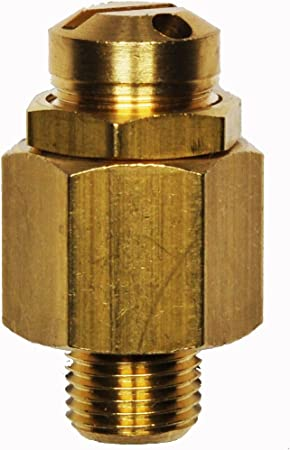 Sicherheitsventil Mini Überdruckventil Einstellbar 6 12 Bar G1 4 Baumarkt