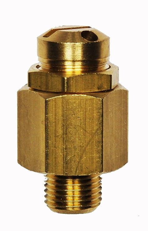 """Sicherheitsventil Kompressorventil Überdruckventil 1//4/"""" 8,5 Bar für Kompressor"""