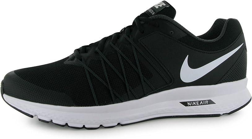 Nike Air Relentless 6 Zapatillas de Running para Hombre Negro/Blanco Fitness Zapatillas Zapatillas, Negro/Blanco: Amazon.es: Deportes y aire libre