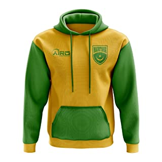 Airo Sportswear Mauritania Concept Country Football Hoody (Yellow)