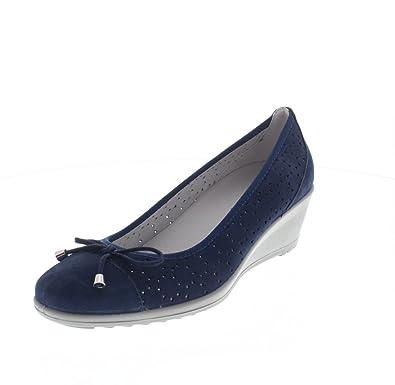 Enval Soft Mocassins Femme BLUE, 35