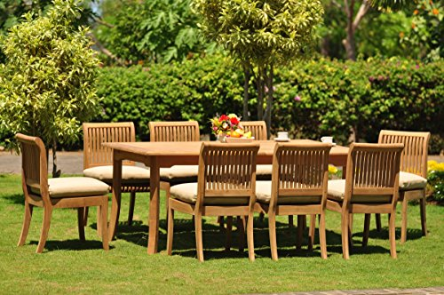 Grade-A Teak Wood Dining Set 8 Seater 9 Pc: 94