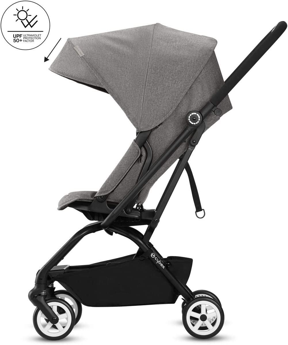 CYBEX Gold Eezy S Twist Compact Pushchair Ultra-Compact From Birth to 17 kg approx. 4 years Passion Pink 360/° Rotatable Seat Unit