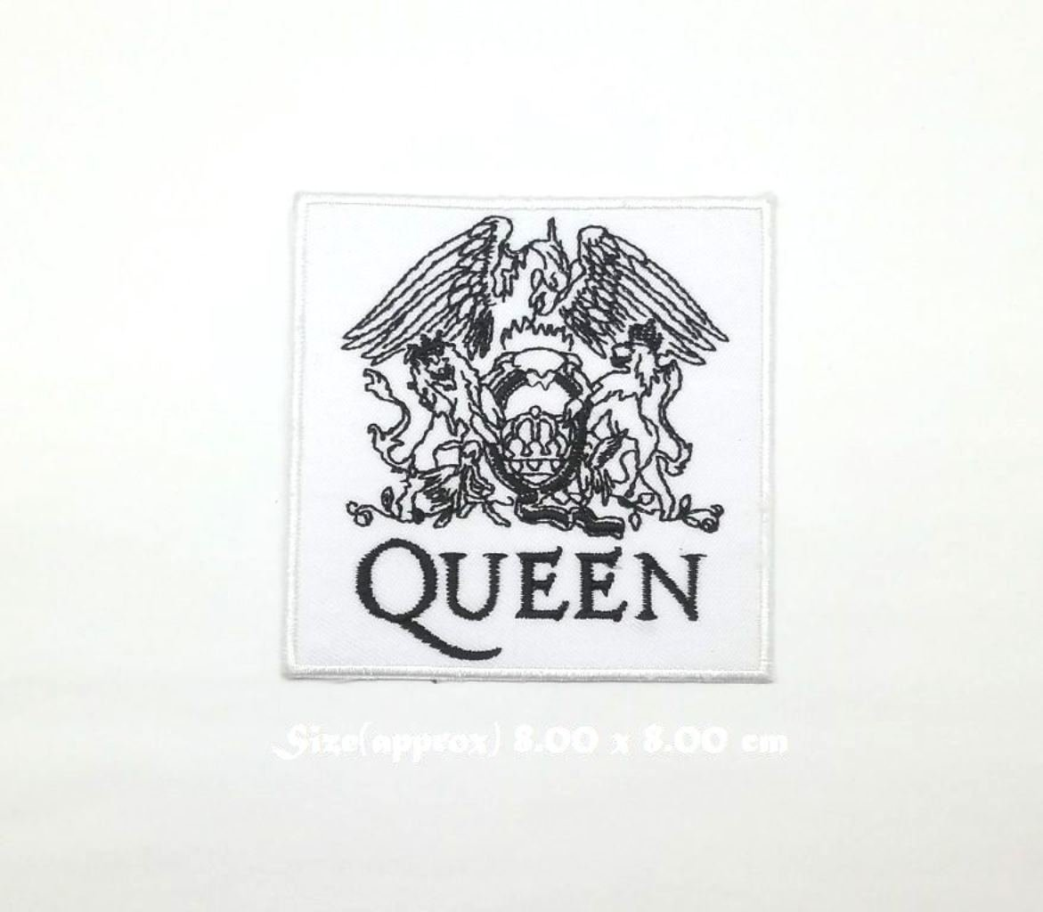 Wasuphand Queen Rock Band Patch Sew On Iron Embroidered Heavy Metal Music DIY Bag Vest gift Jeans Denim Badge Costume