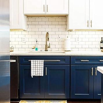 Tirador de puerta para muebles, armarios de cocina o puertas en forma de T de Goldenwarm de acero inoxidable, color dorado: Amazon.es: Bricolaje y herramientas