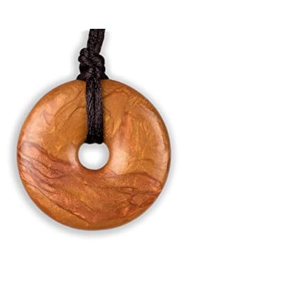 Teething Bling Pendant - Donut Shape (Bronze) : Baby Teether Toys : Baby