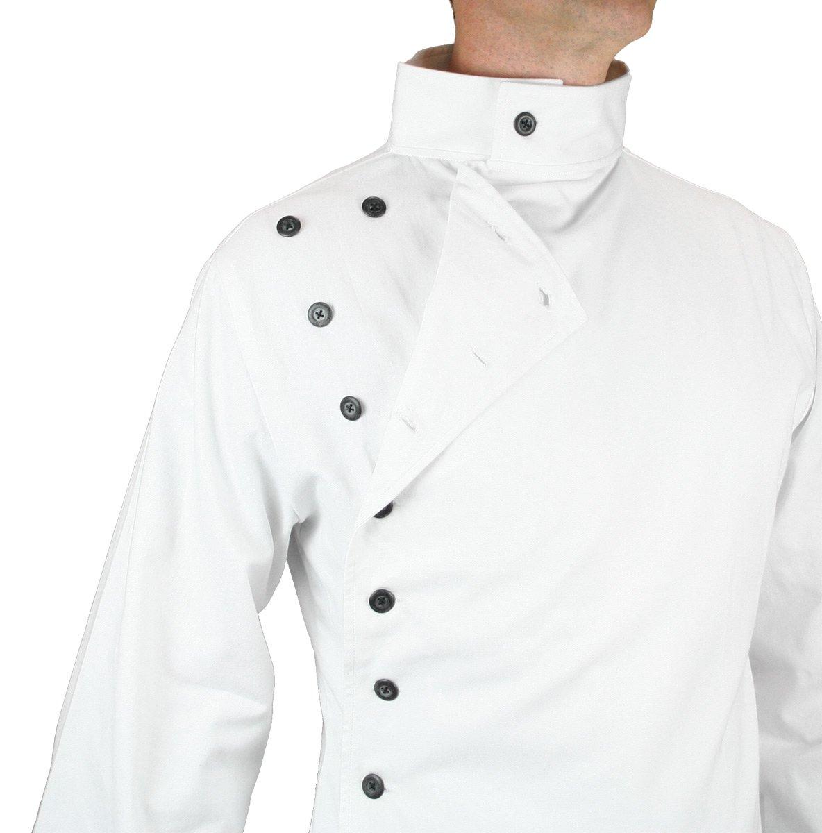 Historical Emporium Men's Cotton Twill Mad Scientist Howie Lab Coat XL/2X White by Historical Emporium (Image #4)