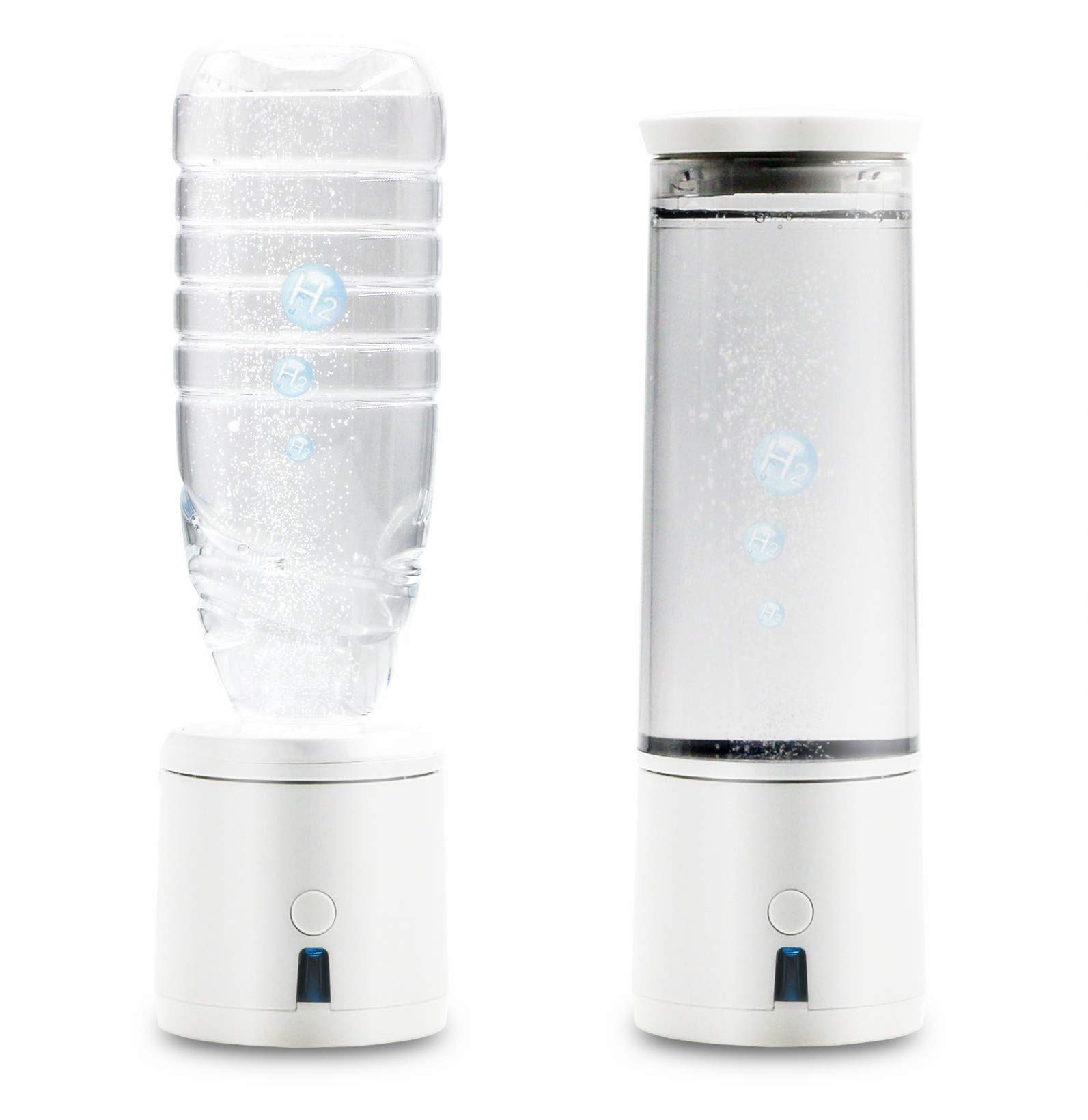 78f92857fc AlkaDrops Portable 5-mins SPE/PEM Membrane Hydrogen Water Bottle  Rechargable Ionized Water Generator Hydrogenated Water Bottle Removal O3  CL2,300ml
