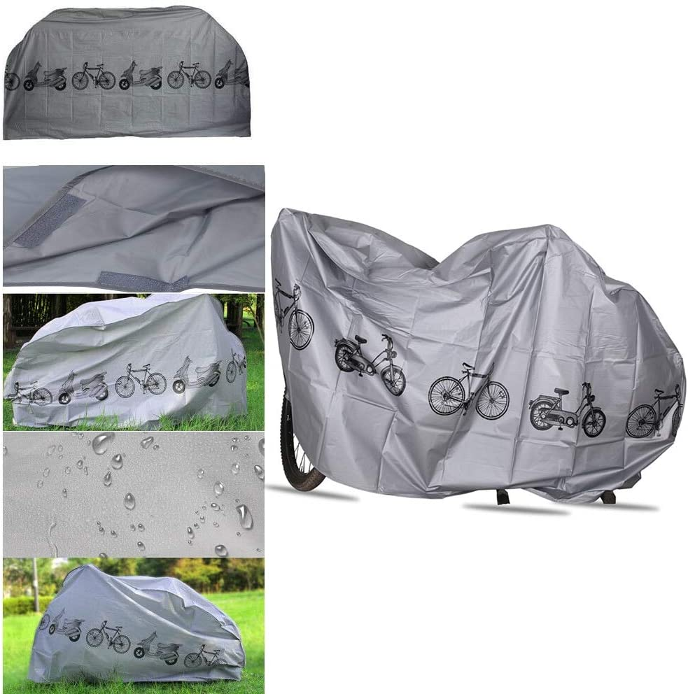 Waterproof Bike Cover Bicycle Moped Scooter Cycle Rain Dust Snow Rust Storage
