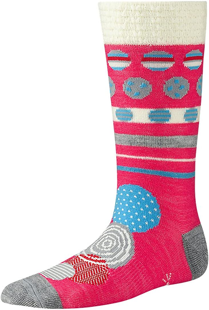 SmartWool Girls Wintersport All Over Dots Socks Past Season