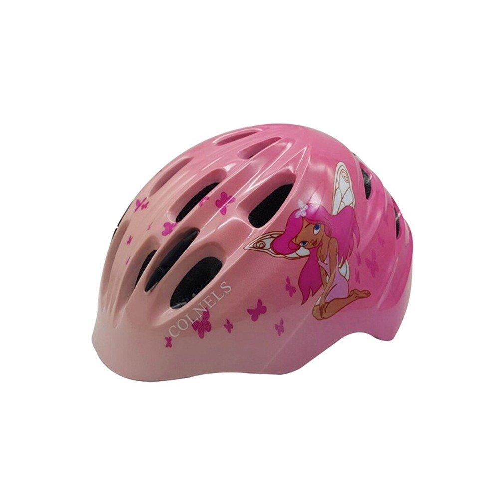 LOLIVEVE Fahrrad Helm Kinder Skating Helm Körperformung Reiten Roller Cartoon Helm Kind Bewegung Beschützer 52-55 cm