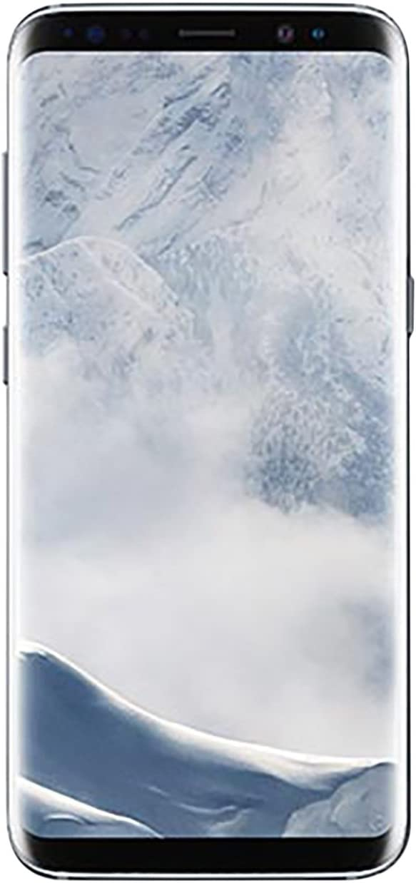 Samsung Galaxy S8 64GB GSM Unlocked Phone - International Version (Arctic Silver)