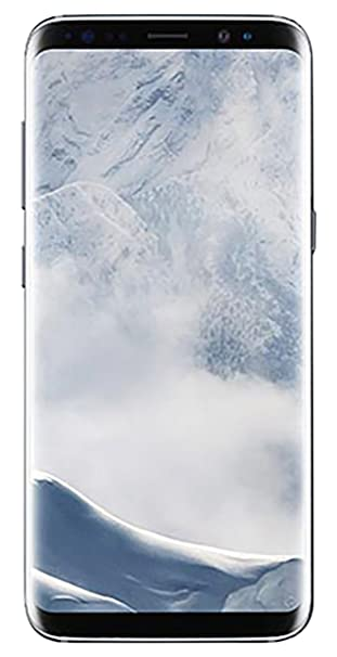 Samsung Galaxy S8 64GB Unlocked Phone - International Version (Arctic Silver)
