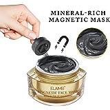 マグネットマスクミネラルリッチ磁気フェイスマスクポアクレンジングは、皮膚不純物-1.7OZを除去