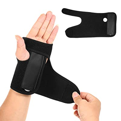 AppleLand 1PC Hand Brace Wrist Support Removable Splint Martial Arts Tennis Bike Motorcycle Prevention Wrist Injury : Sports & Outdoors