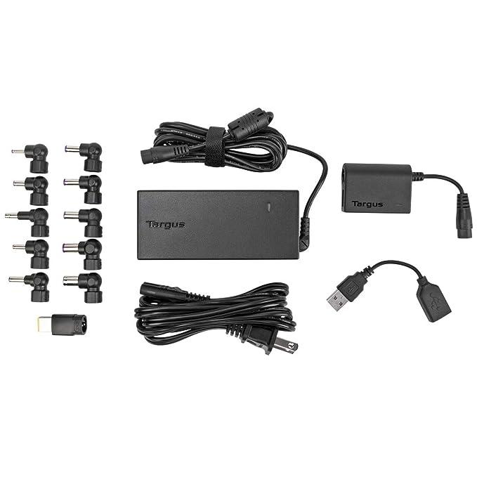 Amazon.com: Targus 90 W Laptop Cargador con USB Puerto de ...