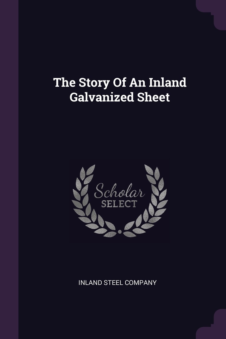 Read Online The Story of an Inland Galvanized Sheet ebook