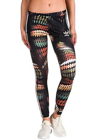 adidas Originals Women s Leggings Multi-Coloured Multicolour Size 14 ... 2f90679858