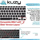 Kuzy - Keyboard Cover for Older MacBook Pro
