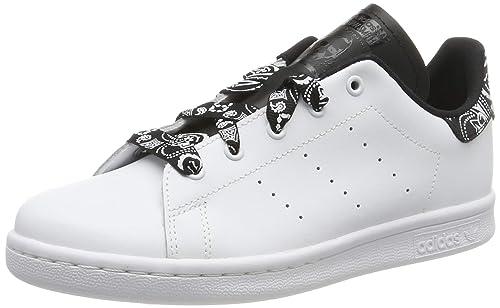official images hot sale online size 7 adidas Stan Smith C, Chaussures de Gymnastique Mixte Enfant