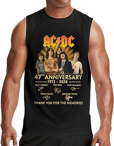 Hengtaichang ACDC 47 Aniversario 1973-2020 Camisetas para ...