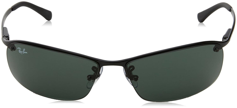 Ray-Ban Lunettes de Soleil 3183 Top Bar Noir Mat  Amazon.fr  Vêtements et  accessoires 8e1bea141520