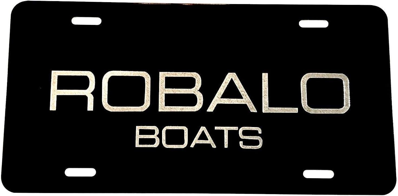 Triton Boats LOGO Car Tag Diamond Etched on Aluminum License Plate