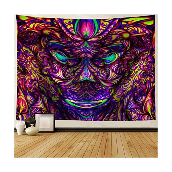 Psychedelic-Tapestry-Abstract-Arabesque-Mysterious-Tapestries-Fantasy-Vision-Monster-Tapestries-Wall-Hanging-for-Meditation-Bedroom-Living-Room-Decor