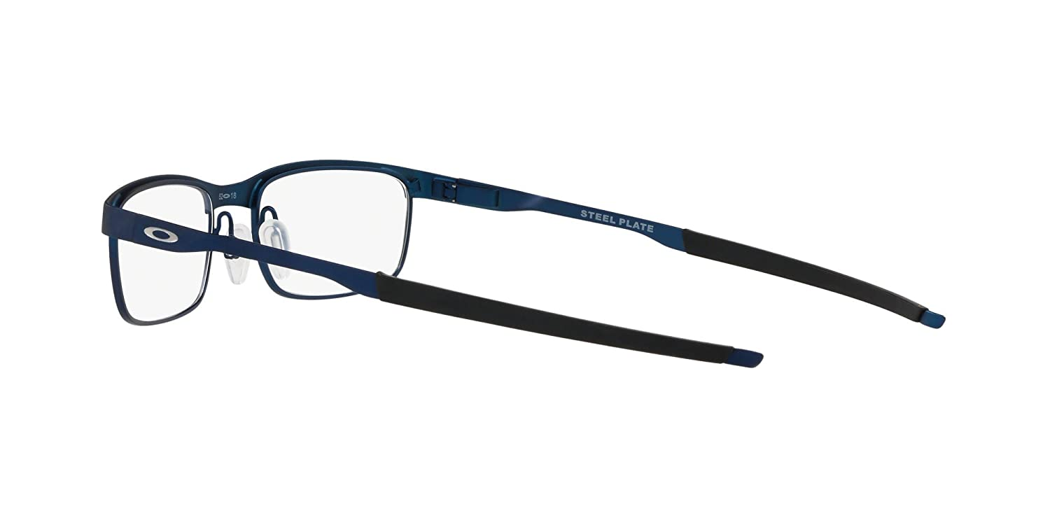 350063d90c Oakley - Steel Plate - Powder Midnight Frame Only at Amazon Men s Clothing  store