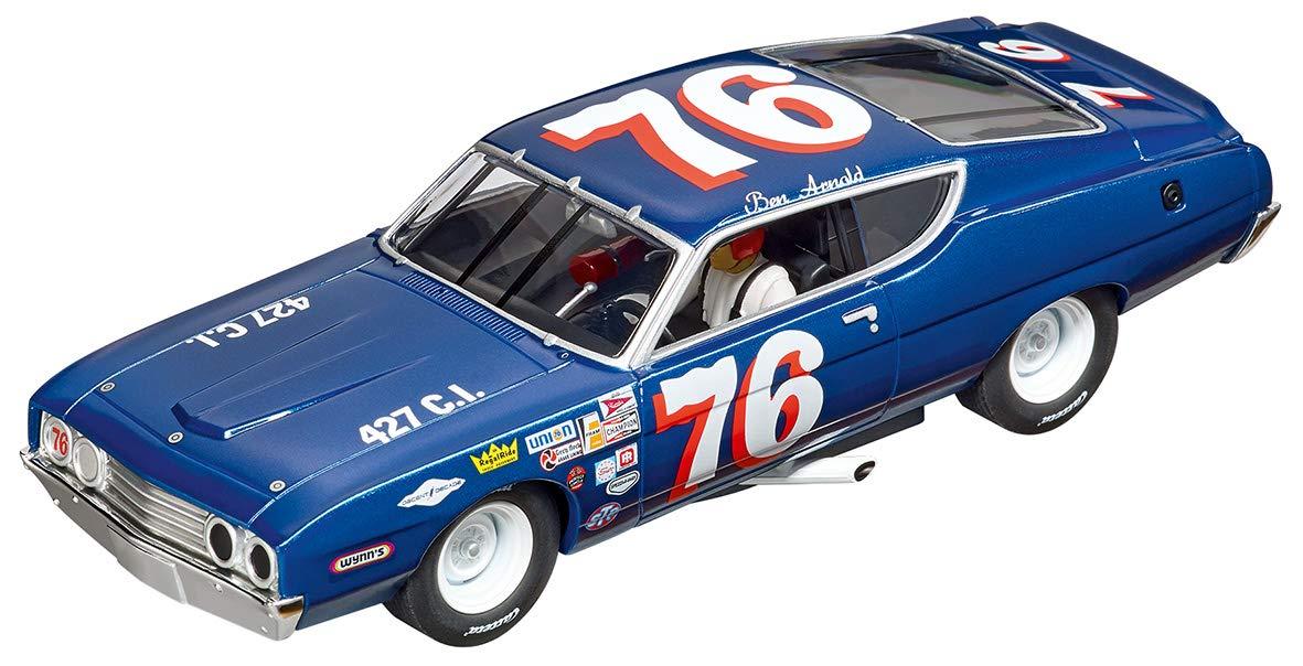 Carrera 30907 Ford Torino Talladega #76 1970 Digital 132 Slot Car Racing Vehicle 1:32 Scale