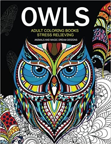 850+ Coloring Book Owls Best HD