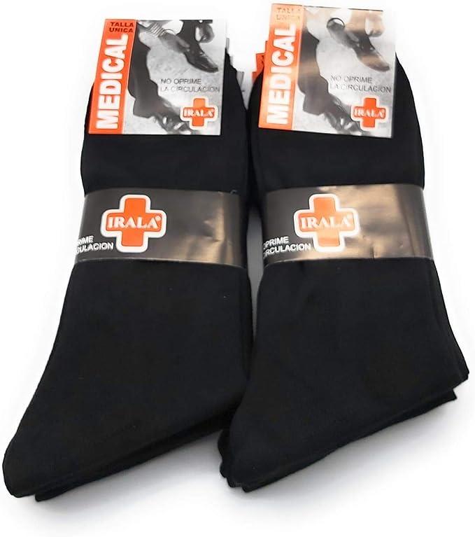 TEXTURAS HOME MEDICAL SOCKS - Pack 12 pares de Calcetines Hilo de ...