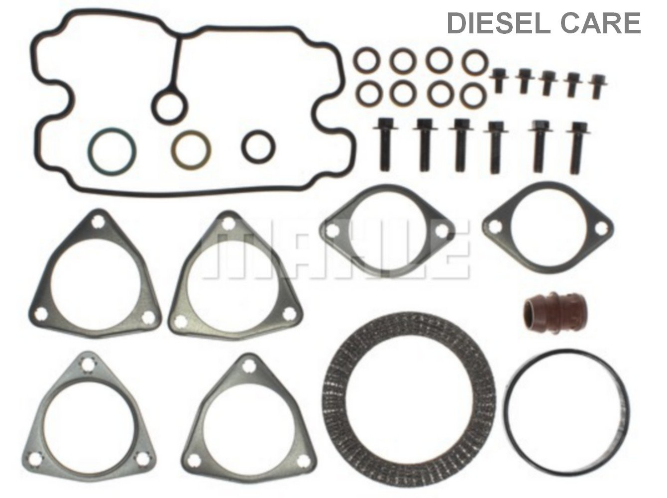 Diesel Care 6.4 powerstroke turbocharger install gasket kit- Major by DCP Products