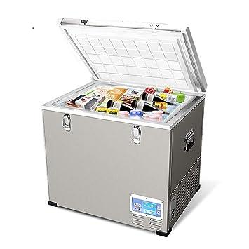 MJK Nevera congeladora, compresor portátil de 45 litros con ahorro ...