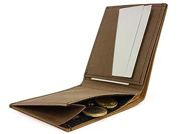 d2b9267eaf8fd SIMARU Slim Wallet mit Münzfach
