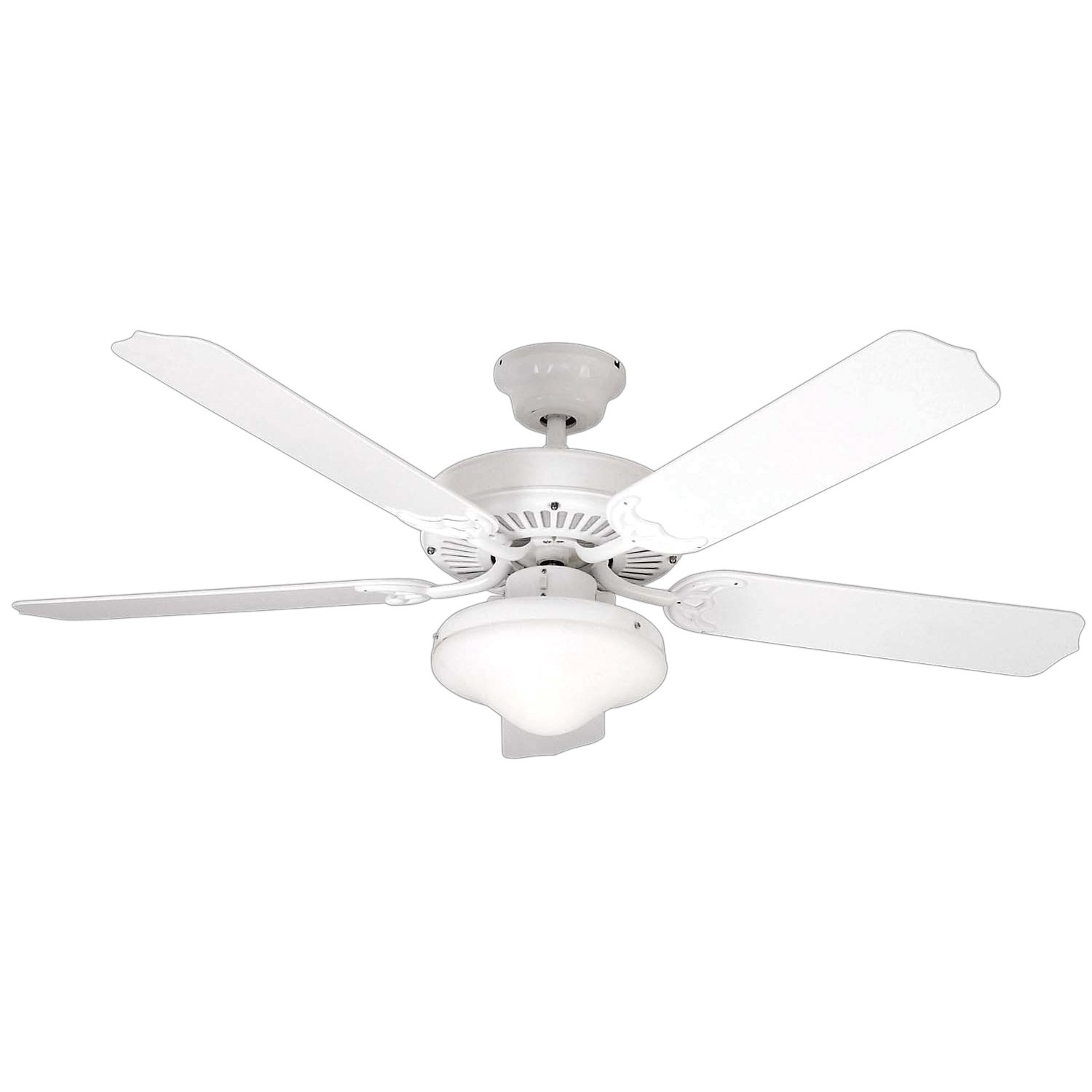 Litex e wod52ww5c all weather collection 52 inch indooroutdoor litex e wod52ww5c all weather collection 52 inch indooroutdoor ceiling fan with five white abs blades and single light kit with frost glass amazon aloadofball Image collections