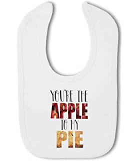 Baby Bib Youre the Pumpkin to my Pie cute funny food