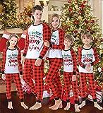 Family Matching Pajamas Christmas Jammies Clothes