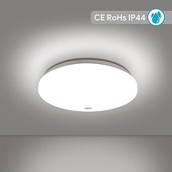 LED Deckenleuchte Modern Deckenlampe 12W Weiß 4500K Ø20cm 1340lm 120 ...
