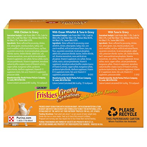 Purina-Friskies-Gravy-Sensations-Variety-Packs-Wet-Cat-Food-Surfin-Turfin-Favorites-36-Ounces-Pack-of-12