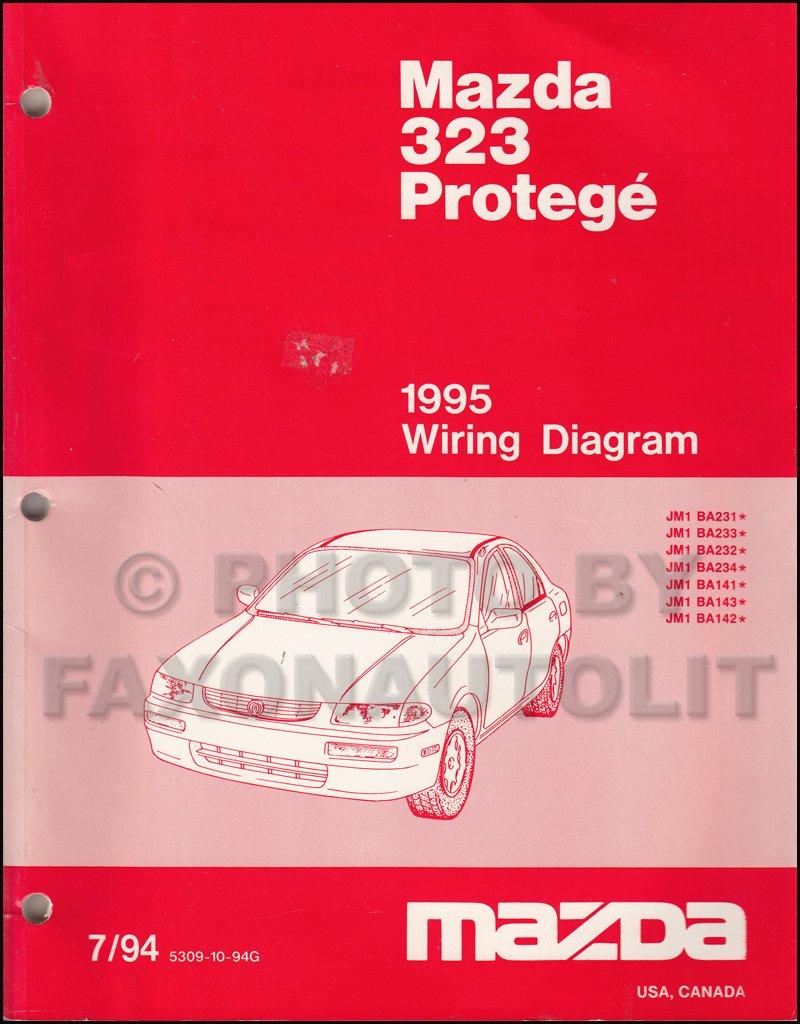 1995 Mazda 323 and Protege Wiring Diagram Manual Original: Mazda:  Amazon.com: Books