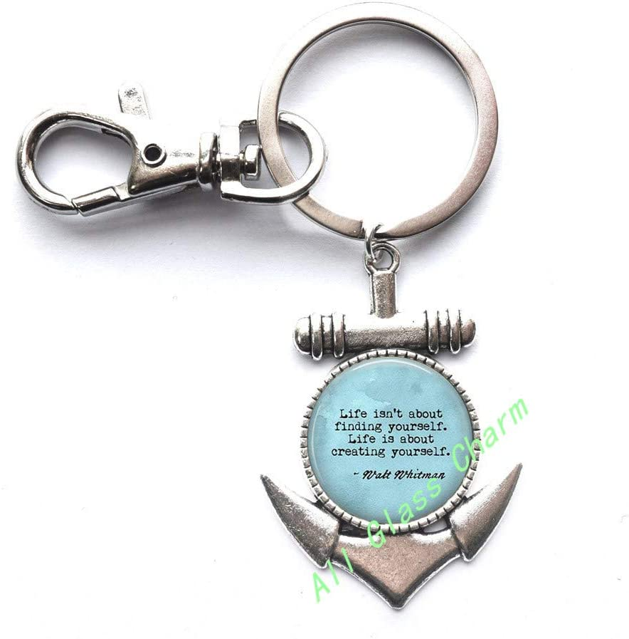 Gift for Graduate,AS0278 Inspiration - Life Quotes Quote Life isnt about finding yourself Life is about creating yourself