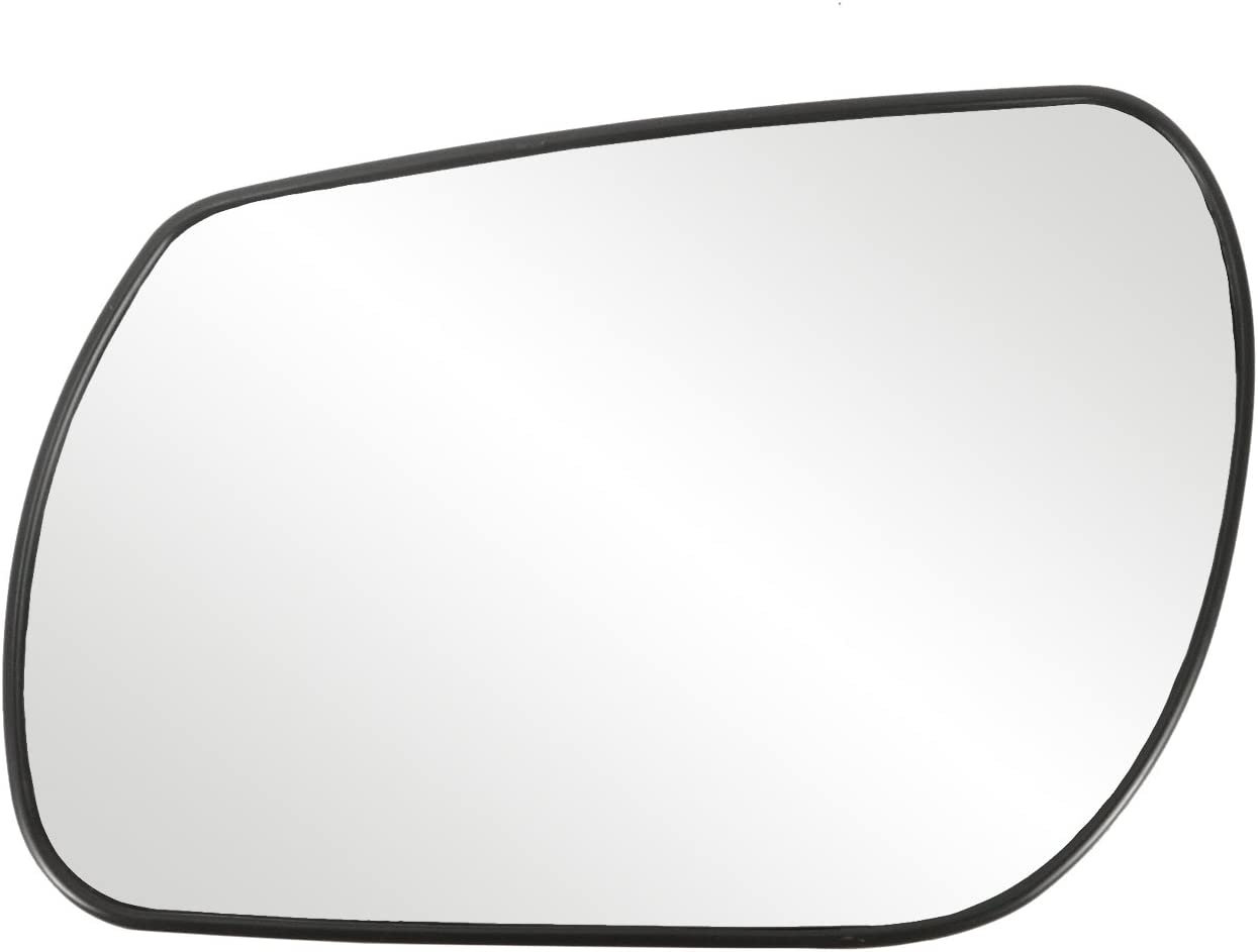 Fit System 33238 Mazda2//Mazda3 Left Side Heated Power Replacement Mirror Glass with Backing Plate