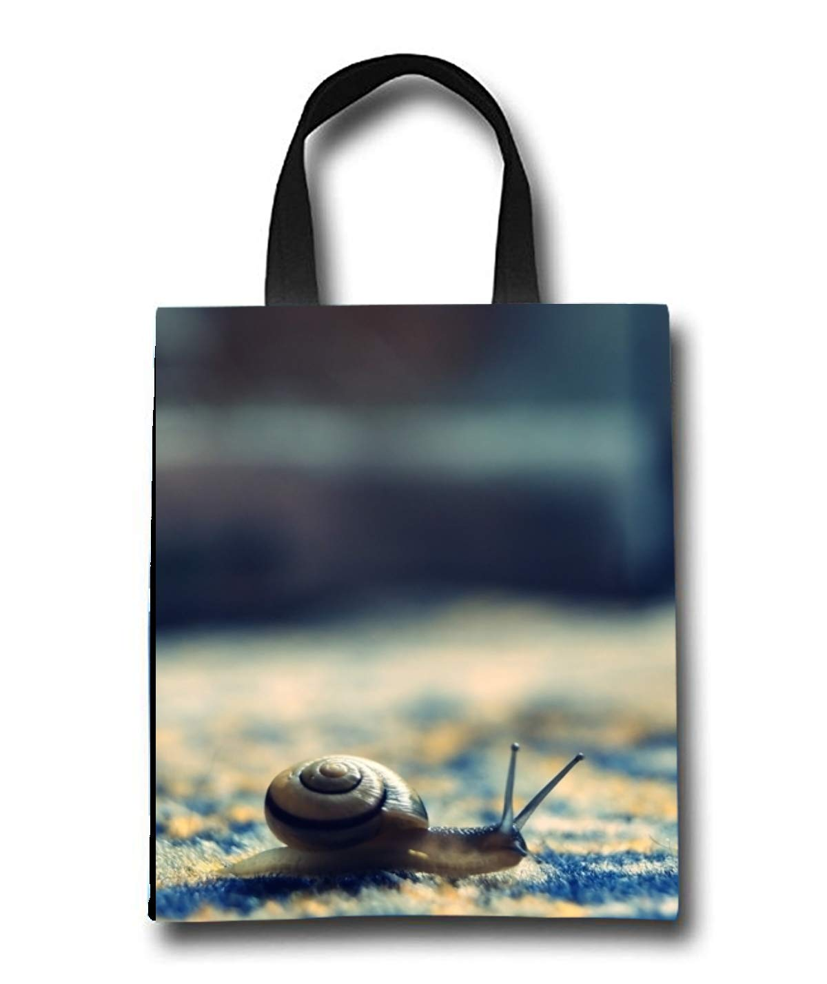 Little Snail Beach Tote Bag - Toy Tote Bag - Large Lightweight Market, Grocery & Picnic