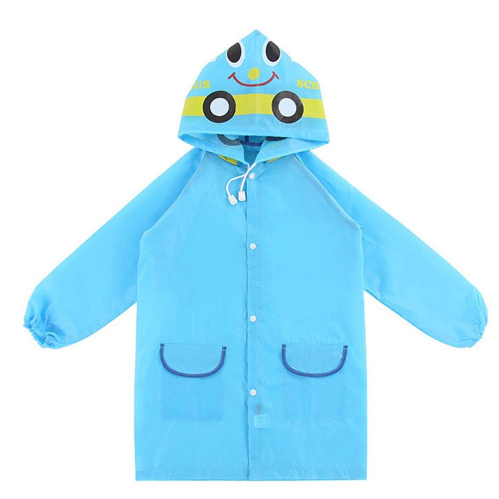 Wildlead Kids Rain Coat Animal Style Enfants imperméables imperméables imperméables Unisexe Cartoon imperméable pour Enfants Rose