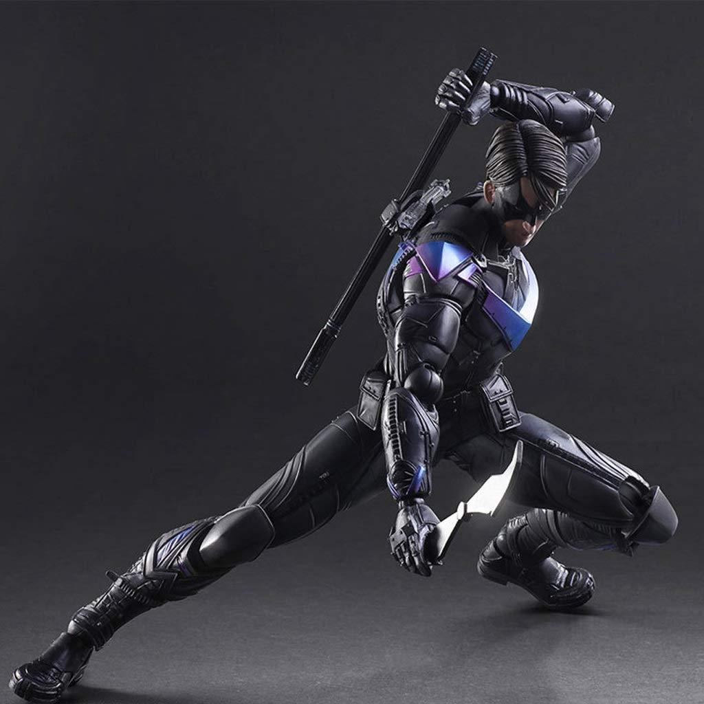 KGMYGS PA-Änderung Batman Dark Knight Night Wings Square Gelenk bewegliche 27cm Modell Statue Anime Dekoration