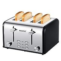 Geek Chef 4-Slice Toaster